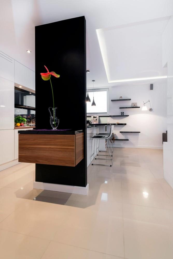 wykończenie mieszkania pod klucz, pod klucz,  aranżacja kuchni, kuchnia z salonem