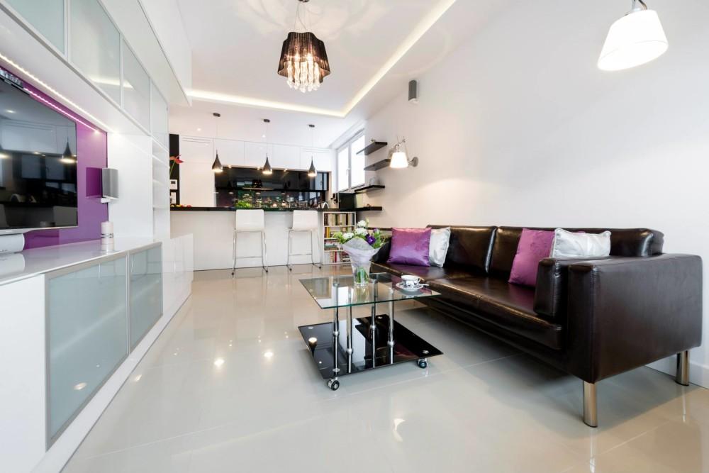wykończenie mieszkania pod klucz, pod klucz,  aranżacja kuchni, salon i kuchnia