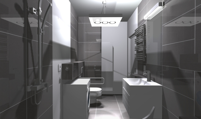 em5, łazienka dla niepełnosprawnych, łazienka bez barier, projekt łazienki dla niepełnosprawnych