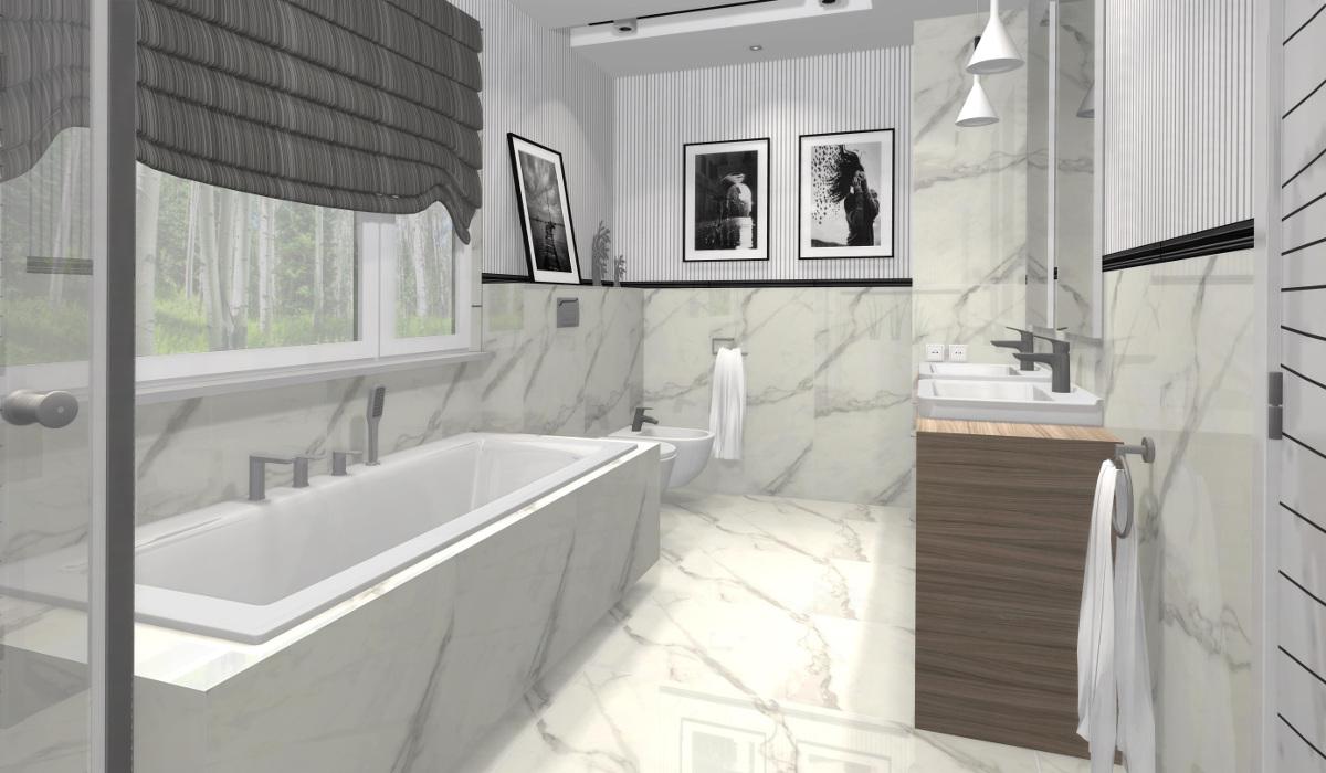 projekt łazienki, wyposażenie łazienki, aranżacja łazienki, Monolith pietrasanta