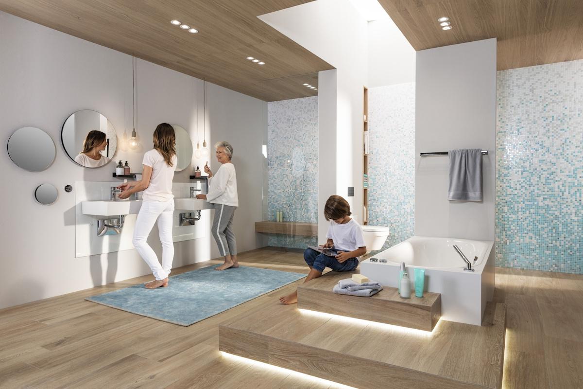 Łazienka, potrzeby użytkowników, viega