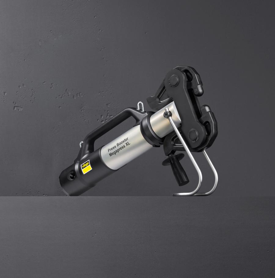Press Booster, przystawka, do zaciskarek, viega, łatwe zaprasowywanie, duże średnice
